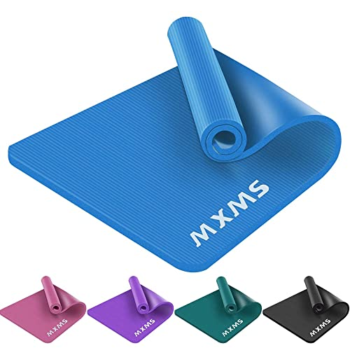 YUREN Tapis de Sport 90cm Largeur Pilates Yoga 15mm Epais Fitness Tapis de Sol