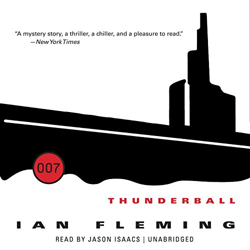 Thunderball audiobook cover art