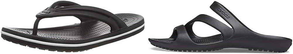 Crocs Men's and Women's Sandal 2-Pack Bundle