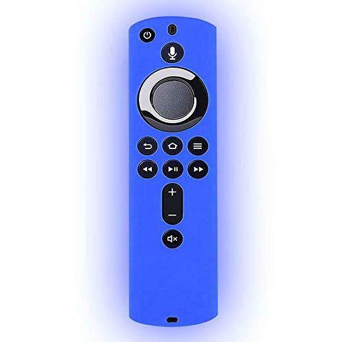 ZUHANGMENG Custodia protettiva per telecomando, Custodia protettiva in silicone antiurto per telecomando Fire TV Stick 4K / Fire TV (3a generazione) / Telecomando Fire TV Cube