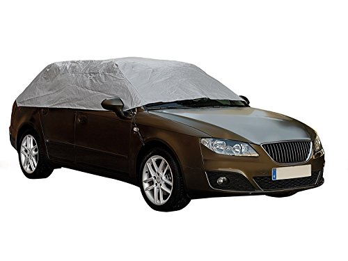 MP Essentials Sumex Waterproof & Breathable Weather & Frost Protection Car Half Top Cover (Small - (233 x 147 x 51cm))