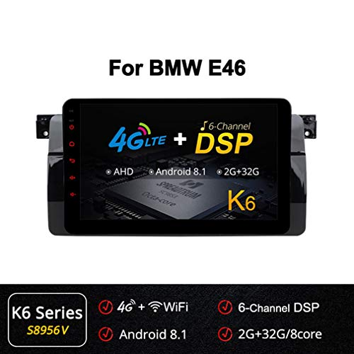 Buy Bargain XBRMMM Large-Screen Car Navigation System Android Car Multimedia Player for BMW E46 with...
