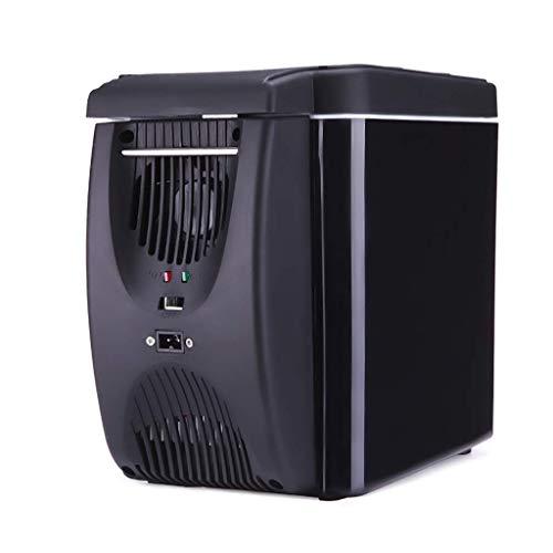 LONGJUAN-C coches 6l mini portátil refrigerador del coche, caliente y fría de la vivienda pequeño refrigerador/enfriador eléctrico Calentador de -12 V DC / 220V AC de Viajes, Hogar Refrigerador