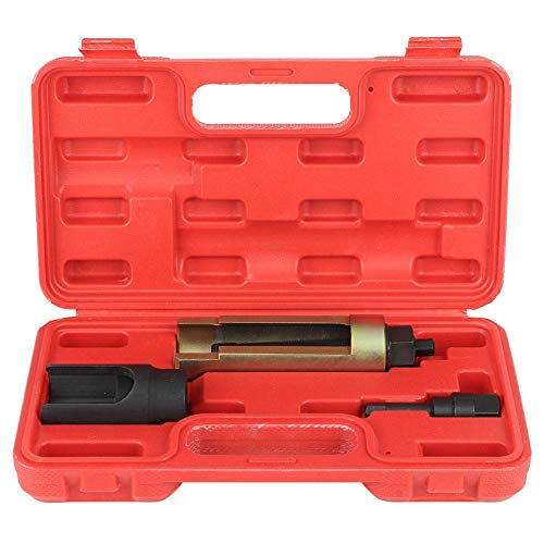 LetCart Extractor de inyector -3 Piezas Extractor de inyector de Carril común Juego de Extractor de Diesel Kit de Herramientas de inyección