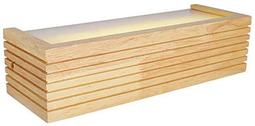 Meixian Modern, houten wandlamp, LED 8 W acryl Up Down verlichting decoratie spiegel lamp voor badkamer hal keuken wandlamp eenvoudig retro