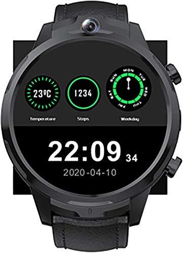 Reloj inteligente de 1,6 pulgadas pantalla táctil completa Sistema de reconocimiento facial 3+32G gran memoria Red global 4G asistente personal en la muñeca