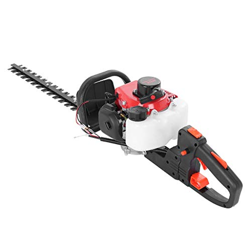 """Mr.Tool 26cc 2-Cycle Gas Hedge Trimmer 24"""" Double-Sided Blade Recoi-l Gasoline Trim Blade"""