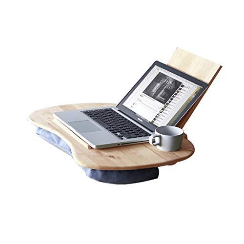 Table Haizhen Station de travail pour ordinateur multifonction en bois d'hévéa