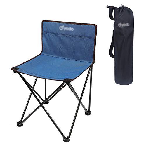 Camping-Hocker Klappbaren tragbaren Stuhl Camping Strand Angeln Stuhl Hocker Gemälde Hocker Skizze Stuhl Maza kleinen Stuhl Klappstuhl (Color : A)