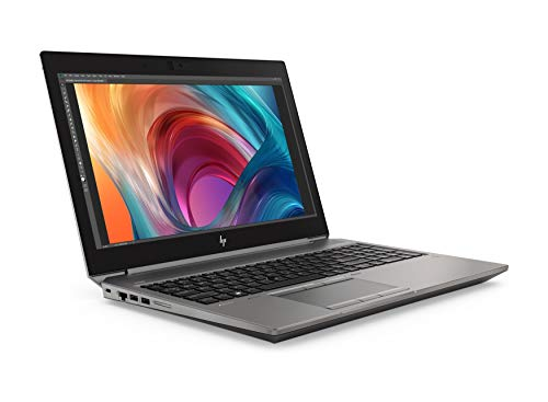 HP ZBook 15 G6 15.6' IPS FHD Estación de trabajo móvil, i7 9850H, 32GB DDR4, 1TB SSD, NVIDIA Quadro T1000 4GB, WIFI 6 y Bluetooth 5.0, GbE, Windows 10 Pro - Diseño de teclado del Reino Unido
