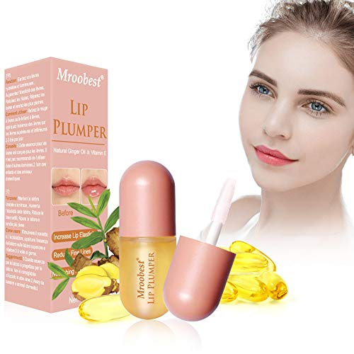 Lip Plumper, Natural Lip Enhancer, Lip Plumping Balm, Increase Lip Elasticity, Reduce Fine Lines, Lip Hydrating, Fuller & Hydrated Sexy Lips 5.5ML