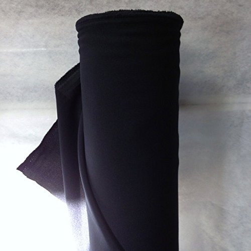 generique - creadetex.com Tissus BURLINGTON infroissable BLEU FONCE MARINE nappe habillement au 0.50 metre largeur 150 cm
