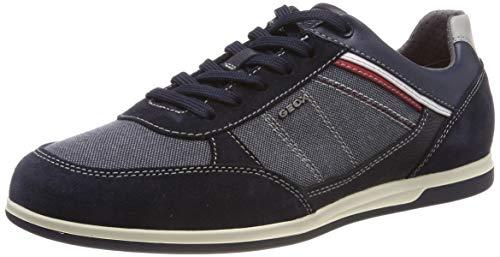 Geox Herren U Renan B Sneaker, Blau (Navy C4064), 45 EU