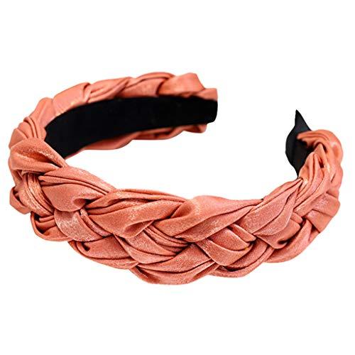 Crylee Design Frauen Schweißband absorbierende Feuchtigkeit für Yoga, Reiten, Basketball Headband Hair Band Hairpin Card Sport Stirnband für Frauen Lady