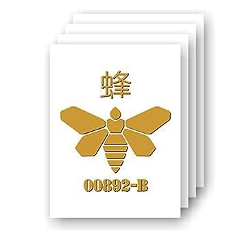 Golden Moth Chemical symbol TVs Breaking Bad-inspired Fan Art vinyl car/laptop decal