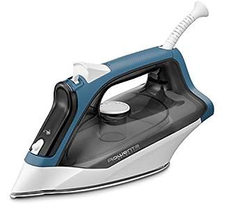 Rowenta Effective DX1550D1 - Plancha ropa vapor 2200 W, golpe de vapor 110 gr/min, vapor continuo 30 g/min, depósito de agua transparente, suela de acero inoxidable antirrayaduras, función Autosteam