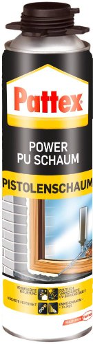 Pattex 1407212  Power Pistolen PU-Schaum 500 ml