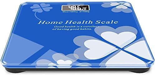BANANAJOY Electronic Scales, Carga Libra de Carga USB Multiuso de pesaje electrónico hogares Libra Libra Pesada Adultas de pérdida de Peso Exacto del Cuerpo Humano Pesa el Peso de