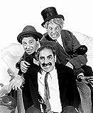 Posterazzi Brothers-Groucho Chico Harpo Marx 1936 Photo Poster Print, (8 x 10)