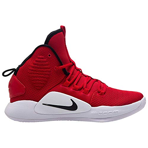 Nike Men's Hyperdunk X Team Basketball Shoe University Red/Black/White Size 10.5 M US