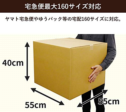 BoxBank(ボックスバンク)『【宅配160サイズ】ダンボール箱【EMS対応】(FD22)』