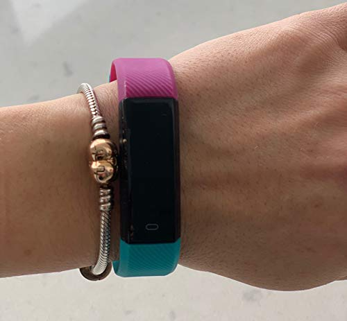 Trendy Pro Fitness Tracker con 2 correas para Android e iOS 3