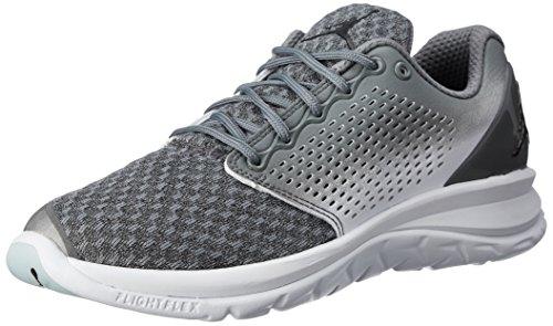 Nike Herren 854562-002 Basketballschuhe, Cooles Grau Grau Schwarz Weiß, 47 EU