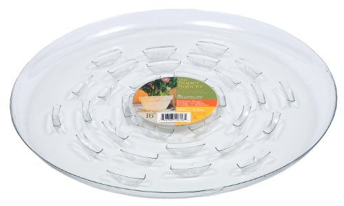 Plastec SS016 Super Saucer for Planters, 16-Inch
