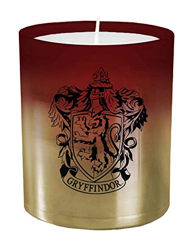 Harry Potter: Gryffindor Large Glass Candle