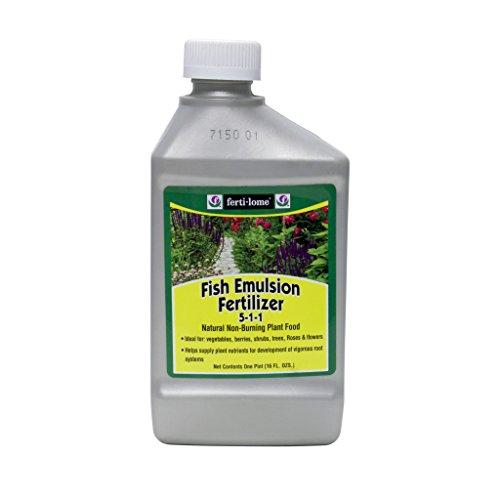 fertilome Fish Emulsion Fertilizer Liquid Plant Food