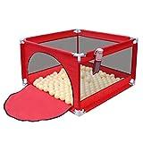 YF-Watch Boxes Baby Laufstall – Kindersicherheits-Spiel-Center Tragbar Indoor Outdoor Home Play Yard für Kleinkinder Oxford Stoff Spielzaun 104,33 x 104,33 x 64,8 cm, 2