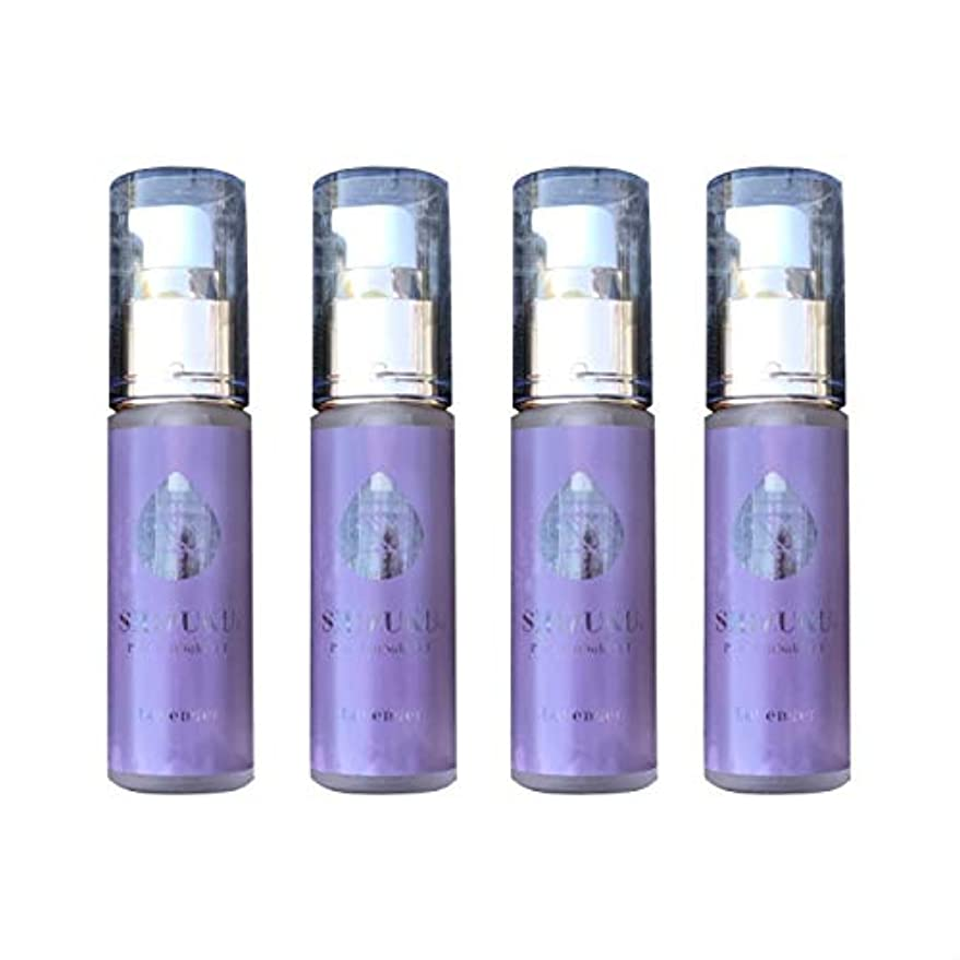 性能紫の前方へ雫 椿オイル ラベンダー 30ml 4本 五島 精製椿油雫