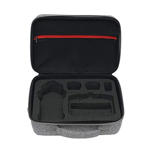 HSKB Drohne Handtasche für DJI Mavic Air 2 Drone Tragetasche Nylon Tragbare Drohne Rucksack wasserdichte Tasche Portable Tragekoffer (Grau)