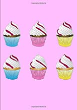 Cupcakes Internet Address & Passwords Organizer with Tabs: Logbook Notebook Alphabetical Page Tabs Large Format 7x10 Inches Lined Paper