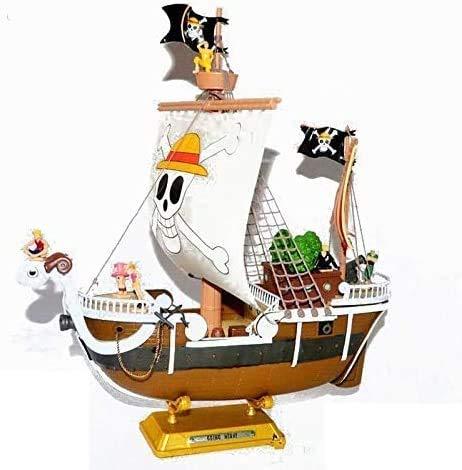 NYDZDM One Piece Modell Spielzeug - 2 Jahre später Piraten-Schiff Luffy Boa Hancock Sonny Wanli Sonnenschein...
