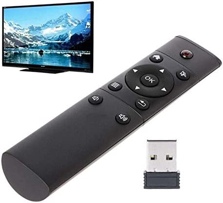 Calvas 1pc Wireless 2 4GHz Air Mouse Remote Control Dedicated Replacement Remote Controls For product image