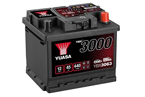YBX3063 Yuasa SMF Autobatterie 12V 45Ah