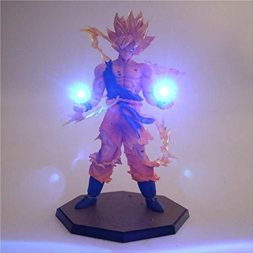 8pcs Anime Dragon Ball Z Son Goku Led Light Super Saiyan Pvc Action Figure Collectible Model Spielzeug Nachtlicht Für Kinder Geschenk-Décor Lampe