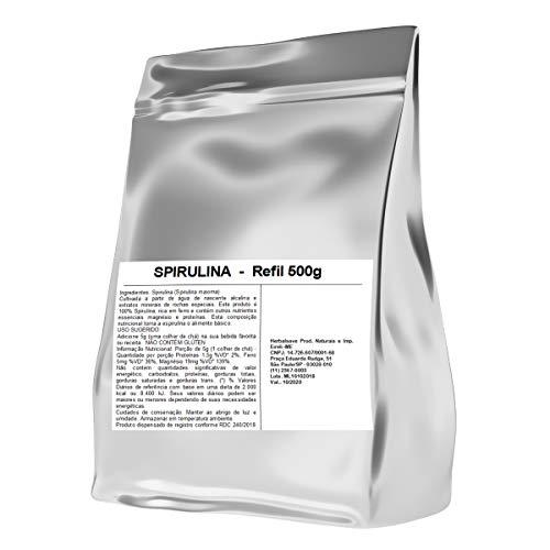 Spirulina Espirulina 500g 500 gramas Mais Nutrition