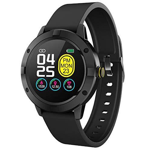 FRTUI Reloj Inteligente Q10 Monitor de Frecuencia CardíAca de PresióN Arterial Reloj Inteligente Deportivo Banda Inteligente de Fitness de Moda