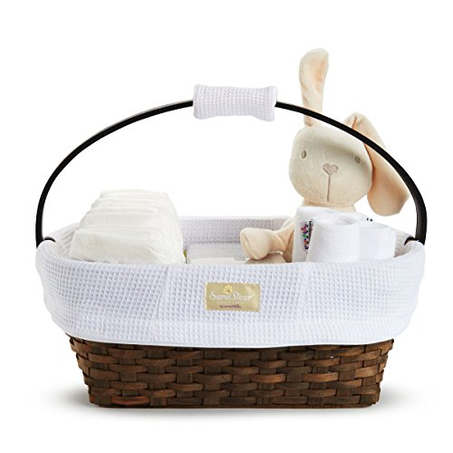 Munchkin Portable Diaper Caddy, White