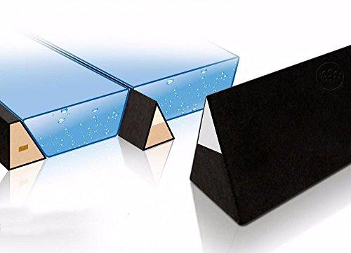 Ultra Wellenbrecher Trennkeil für Wasserbetten 100% wirksame Trennwand Trennung Isolation (für 220 cm (real 208 cm))