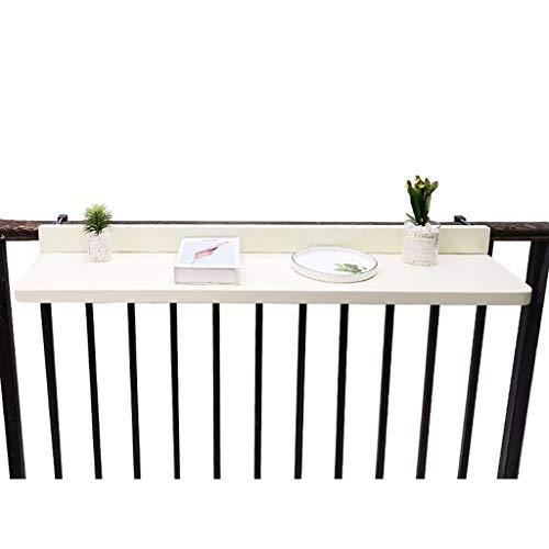 Tables Mesa Plegable Colgante Barandilla para Exteriores, Escritorio para Computadora con Elevación para Espacios Pequeños, Comedor En Casa Mesa Multifuncional Balcón Jardín ZX