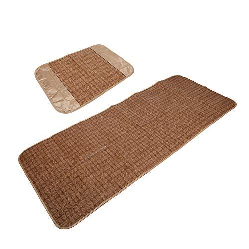 Alinory Cooling Isomatte, Nicht Stick Skin Robuste Rattan Sommerschlafmatte Sommerschlafmatte, Praktische Kühlschule für Zuhause