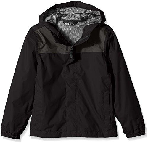 The North Face Giacca Zipline Rain per Bambino, Bambini, T92U3TJK3. S, Noir TNF, S