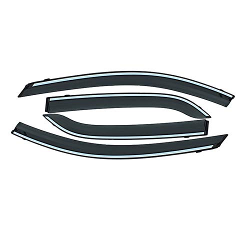 Auto Autofenster Regenschutz Rauchfenster Sun Rain Visor Deflector Guard Autozubehör Für Nissan NV200 2010-2019 Seitenfenster Windabweiser