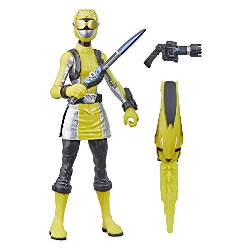 Power Rangers Beast Morphers Yellow Ranger 6' Action Figure Toy Inspired by The TV Show