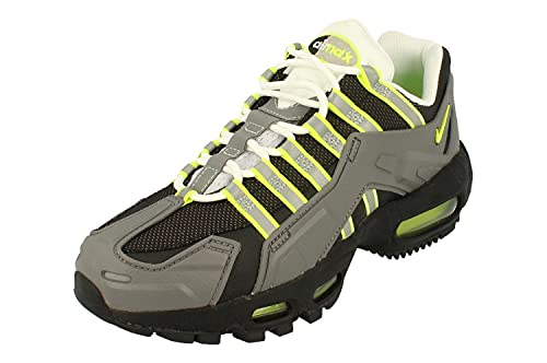Nike NDSTRKT Air MAX 95 Hombre Running Trainers CZ3591 Sneakers Zapatos (UK 6 US 6.5 EU 39, Black Neon Yellow Grey 002)