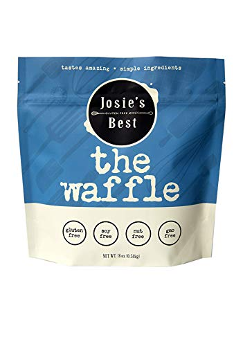 Josie's Best Waffle Mix (Gluten Free, Soy Free, Nut Free, GMO Free) tastes amazing | simple ingredients 18oz.