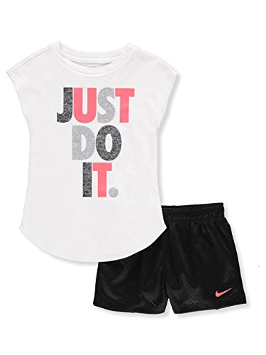 Nike Girls' 2-Piece Outfit - Black, 6X